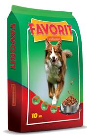 Pełnoporcjowa karma dla dorosłych psów Favorit z wołowiną 10 kg
