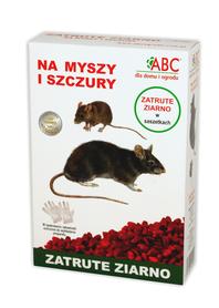 ABC zatrute ziarno na myszy i szczury 250g